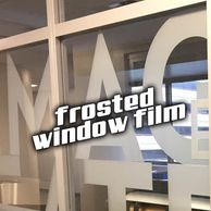 Frosted Vinyl Privacy Film Window Graphics Custom Storefront Signs Signage Miami Fort Lauderdale