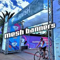 Mesh Banners Printing Signs Signage Miami Fort Lauderdale Vinyl Banner Large Format Banner Wall