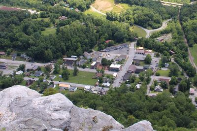 The Historic Town of Cumberland Gap, Tennessee.