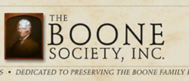 association of descendants, genealogists, and historians who study the lives of the Boone Family