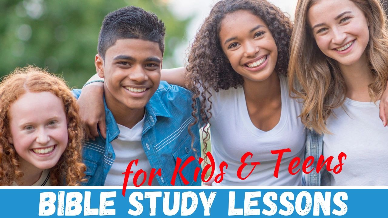 Download printable PDF lessons for small group studies