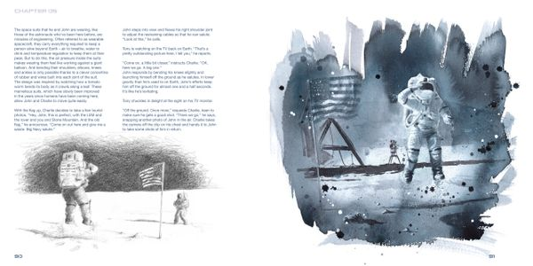 Inside pages from Where Once We Stood