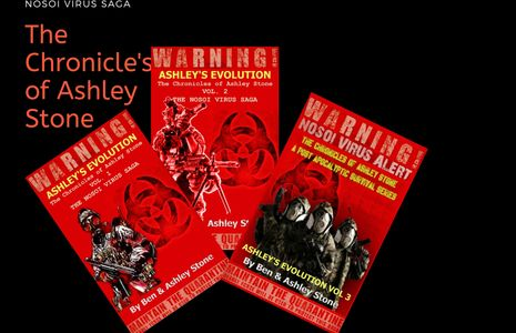 America's deadliest bio-weapon, the NOSOI Virus, Follow V1-3 of the Chronicles of Ashley Stone