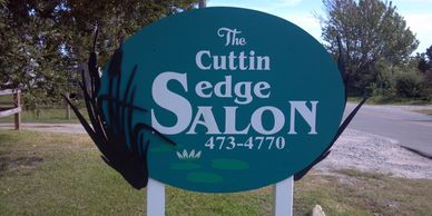The cuttin sedge salon  in Manteo on Roanoke Island in the Outer Banks