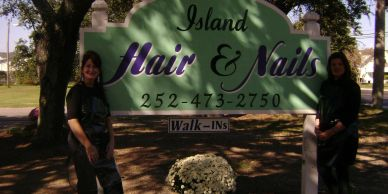 Island Hair and Nails in Manteo on Roanoke Island in the Outer Banks
