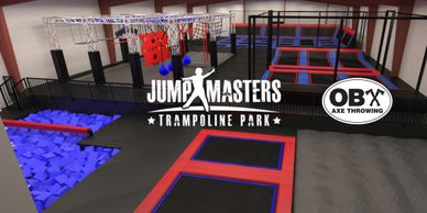 Jumpmasters Trampoline Park in Manteo on Roanoke Island in the Outer Banks