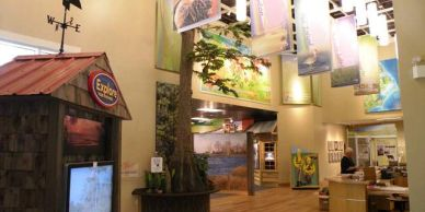 National Wildlife Refuges Visitor Center in Manteo on Roanoke Island in the Outer Banks