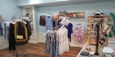 Bloom Boutique  in Manteo on Roanoke Island in the Outer Banks