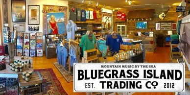 Blue Grass Island Trading Co.  in Manteo on Roanoke Island in the Outer Banks