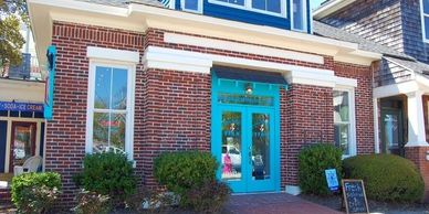 Island Perk coffe Shop  in Manteo on Roanoke Island in the Outer Banks