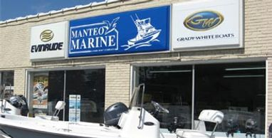 Manteo Marine in Manteo on Roanoke Island in the Outer Banks