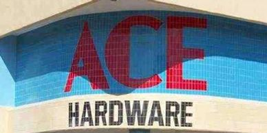 Ace Hardware in Manteo on Roanoke Island in the Outer Banks