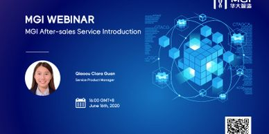 MGI after-sales service introduction webinar