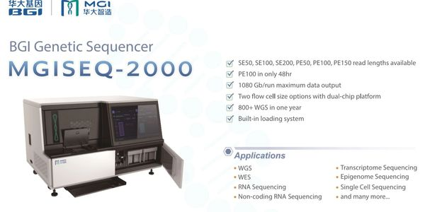 MGI, genetic sequencers, instruments, reagents, clinical applications