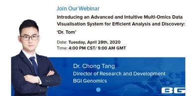 "Advanced, intuitive multi-omics data visualisation system for efficient analysis&discovery:""Dr. Tom"""
