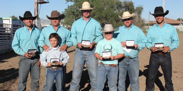2015 Neal Hermanson Memorial Ranch Rodeo 1st Place Team