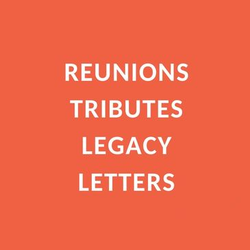 record a family reunion, a birthday, anniversary or retirement tribute, a legacy letter
