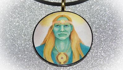 Zorra of Hollow Earth Harmonizer Pendant