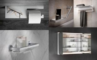 Since 1953 Keuco has been a leader in bathroom furnishings. The full range encompasses over 6000 dif