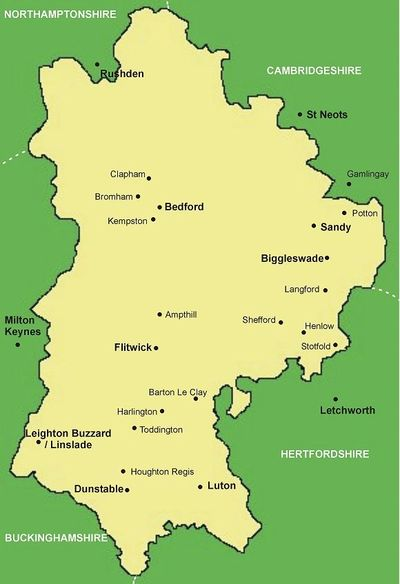 Services in Bedfordshire