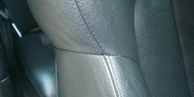 Car Seat Repair - stitching and restitching repairs