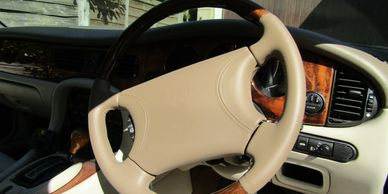 Car seat repair - steering wheel, door cards, interior timr