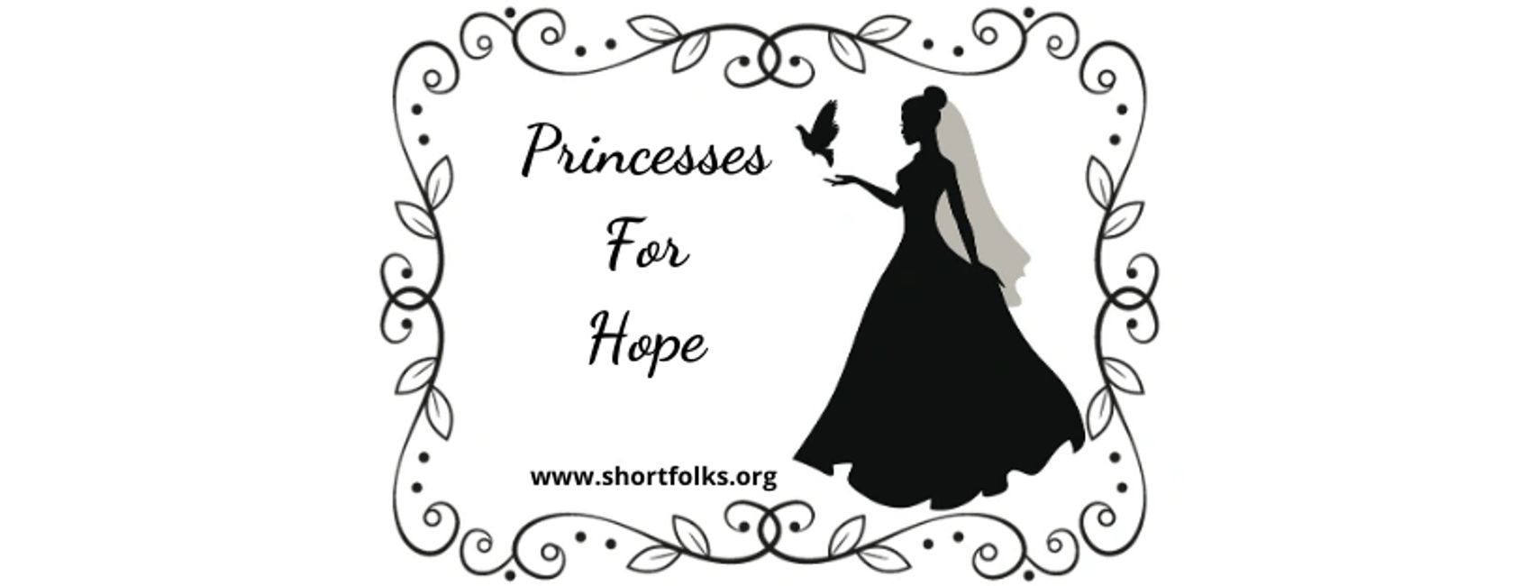 Short Folks For Hope Foundation's Princesses For Hope Project. Logo by Kristen Short.