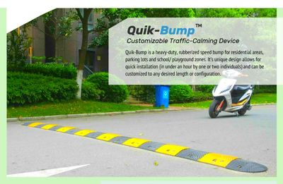 Quik-Bump portable speed bump