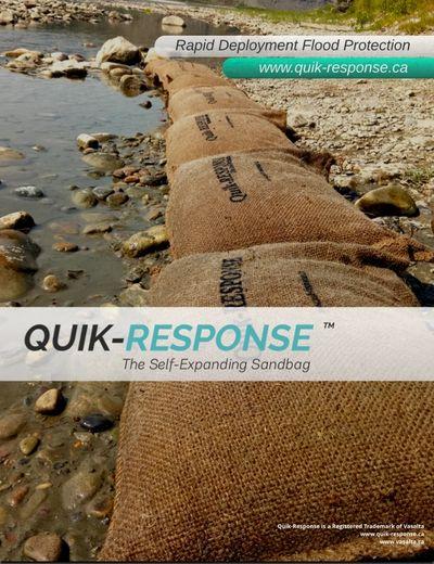 Quik-Response Sandless Sandbags