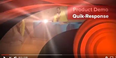 Quik-Response Self-Expanding Sandbag demonstration video
