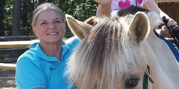 review of speech language pathology in motion, volunteer testimonial, Pal-O-mine equestrian