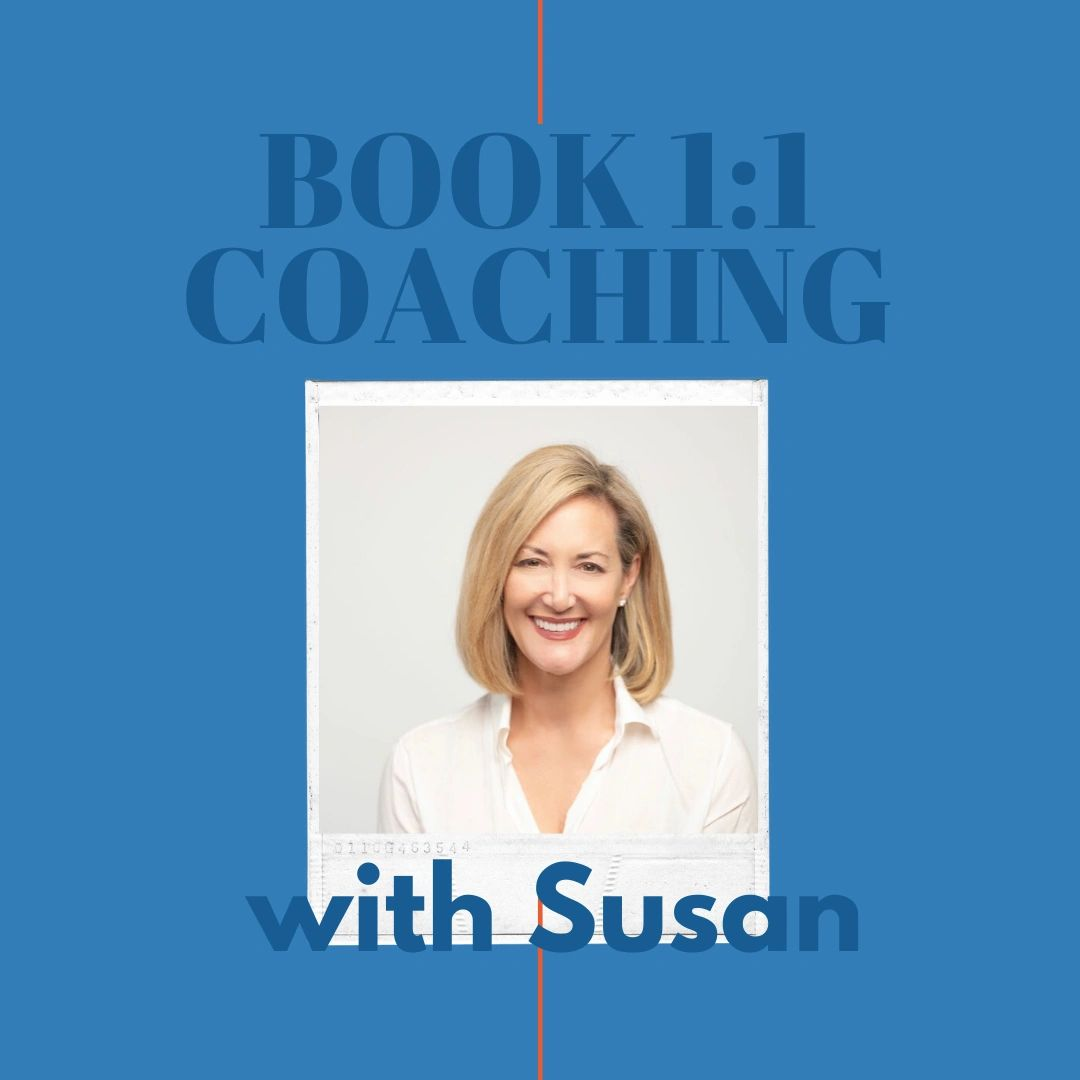Book 1 on 1 coaching with Susan Guthrie,online mediation expert, social media, marketing and podcast