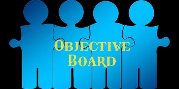 objective, boardroom