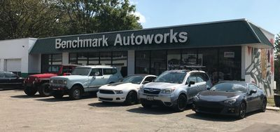 Benchmark Autoworks Auto Repair Maintenance Mechanic Raleigh NC Downtown