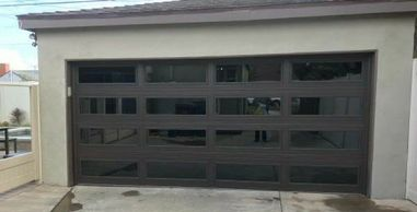 Modern View Steel garage doors by best price garage door service - 818-431-7520