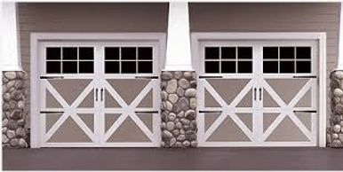 9700 Wayne Dalton Vinyl & Steel Carriage house door by best price garage door service - 818-431-7520
