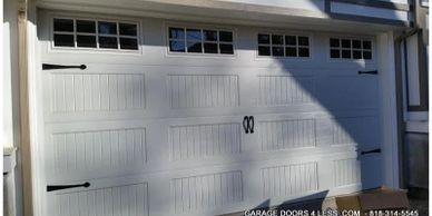 carriage house steel doors by best price garage door service - 818-43-7520