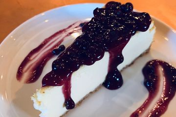 Blueberry Guava Cheesecake