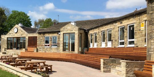 The Clubhouse at Richmondshire Cricket Club