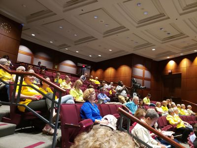 Community at Fairfax County Planning Commission Meeting.