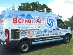 Berkun Air Conditioning Service Trucks