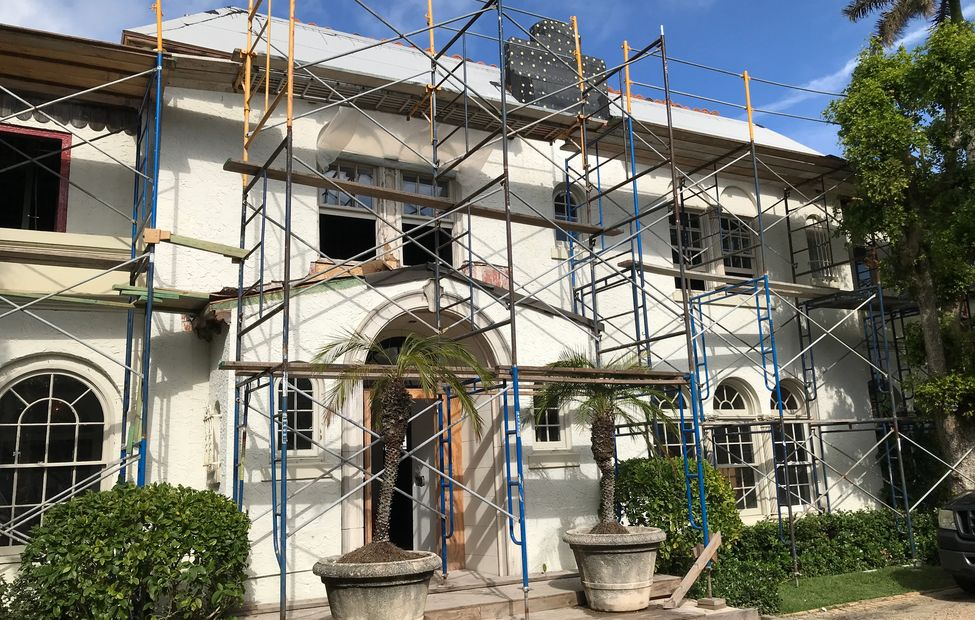 Palm Beach Historical Home Restoration Projects Worked on by Berkun Air