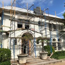 Berkun Air works on Palm Beach Historic Home