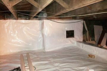 crawl space encapsulation crawl space clean out radon in crawl space