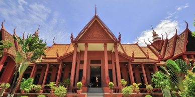 National Museum in Phnom Penh Capital City