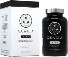 Qualia Mind Nootropics | Top Brain Supplement for Memory, Focus, Mental Energy, and Concentration