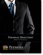 Personal High Limit Disability Brochure from Petersen International Underwriters