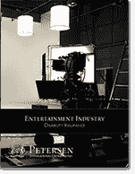 Entertainment / Movie Star High Limit Disability Brochure from Petersen International Underwriters