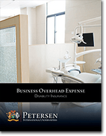 Business Overhead Expense / BOE Disability Brochure from Petersen International Underwriters