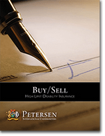 Buy / Sell Disability Brochure from Petersen International Underwriters